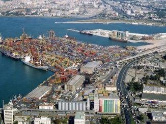 伊茲密爾港口碼頭和回填由於招標