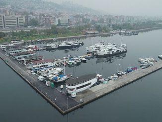 izmit marina ton asphalt paved