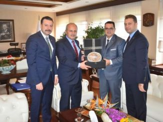 izto delegation conveys expectations of turhana izmir in logistics sector