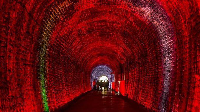 kanada historyczny tunel kolejowy brockville otwarty dla turystyki