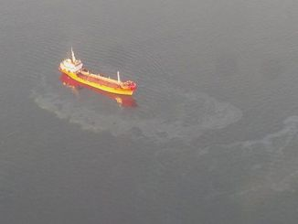 korfezi kirleten gemiye milyon tl ceza