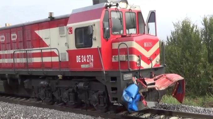 Accidente de tren de Kutahyada hirió a personas pesadas
