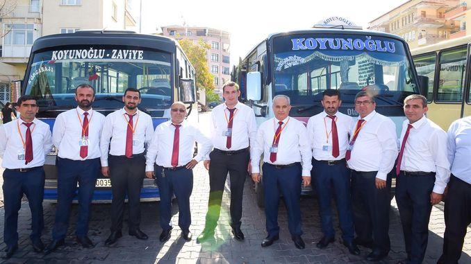 Sa malatya, nagsimula ang pantay na aplikasyon ng mga minibus
