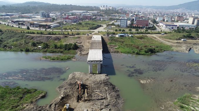 The bridge is being built as an alternative to melet bridge