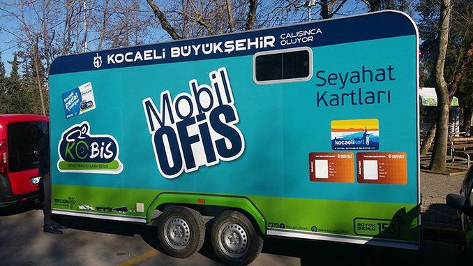 मोबाइल ऑफिस कारवां कंदिरा जा रहा है