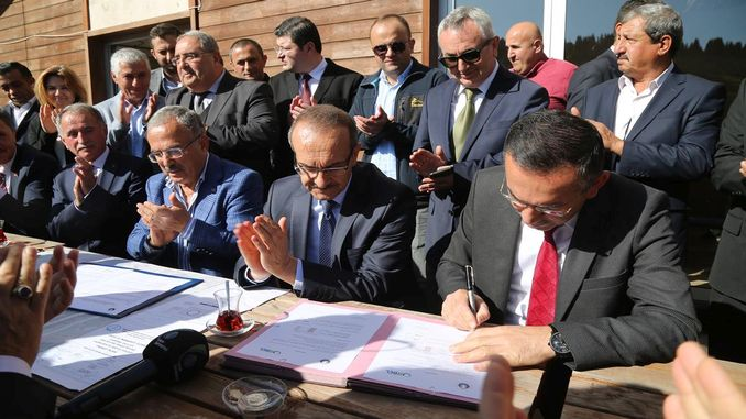 اوربل اوڈو تعاون پروٹوکول پر دستخط ہوئے