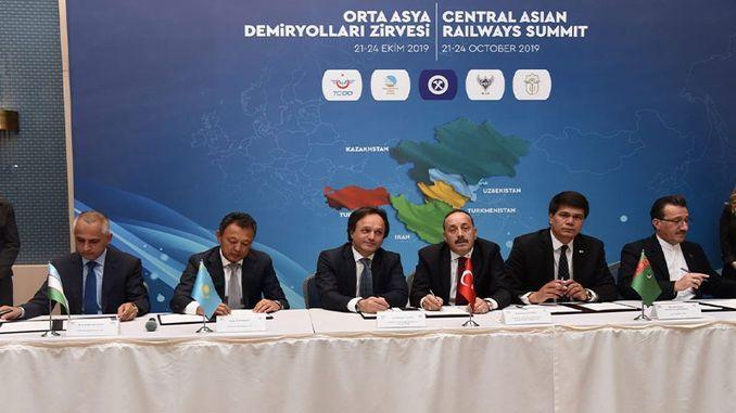 Одржан самит централне азијске железнице у централној Азији