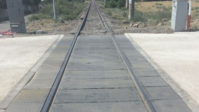 TCDD region mintikalarının various level crossings in the rubber coating of the tender result