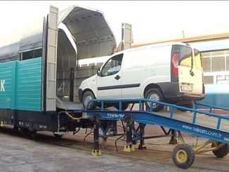volkswagen's cars will be transported like this