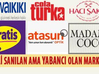 marki tureckie, które uważamy za obce