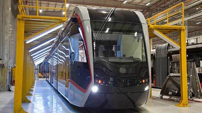 Bozankaya Ғолиби тендери дуввуми трамвай дар Румыния