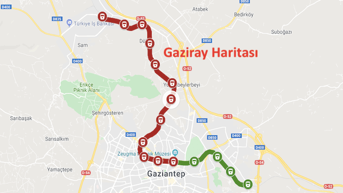 Map of Gaziray