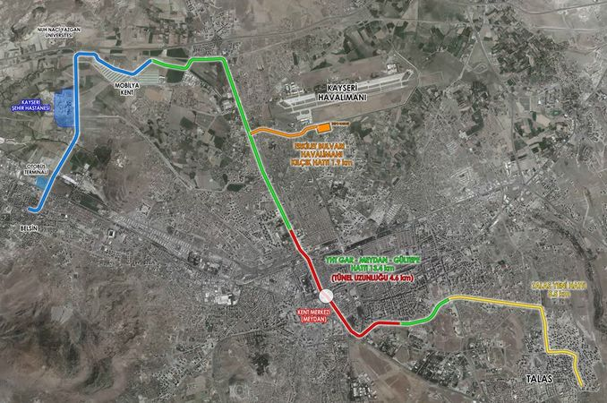 Kayseri New Tram Projects