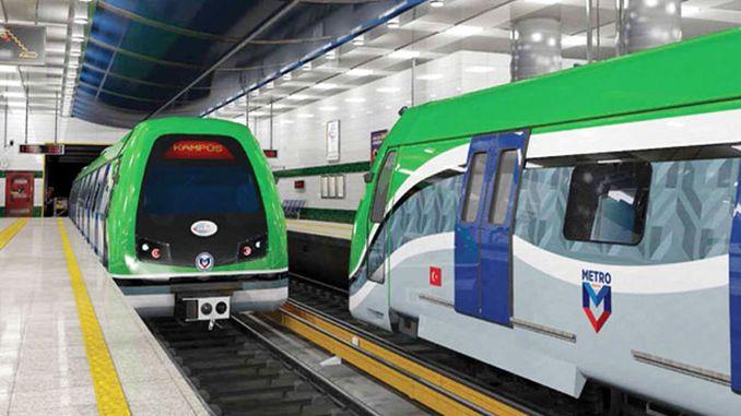 कोन्या मेट्रो वर्षभरात पूर्ण केली जाईल