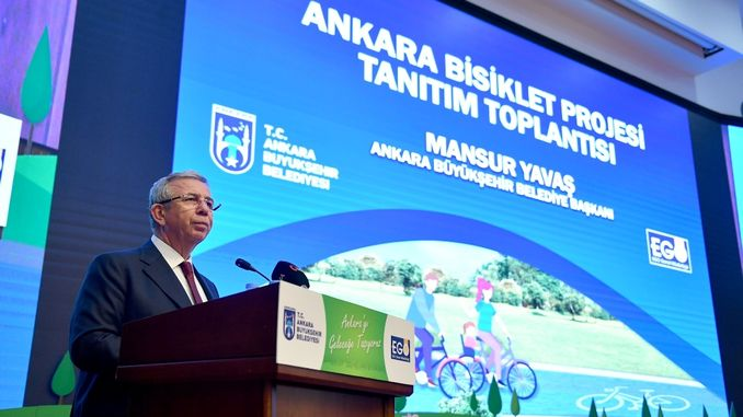 ankarada kilometers long bike path project comes to life
