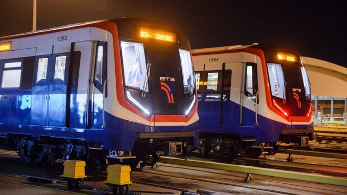bozankayaThe subway vehicles produced by. started service in thailand.