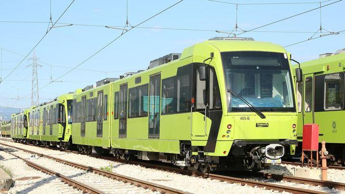 בית החולים העירוני בורסה מחווה למערכת הרכבות