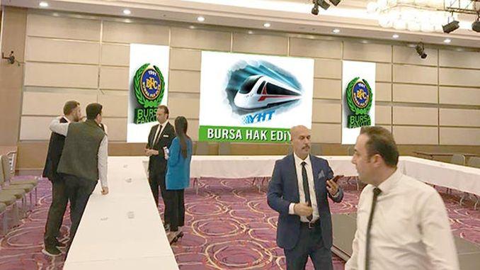 bursalilar wants a high speed train
