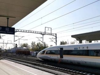 high-speed train test driver without driver in China