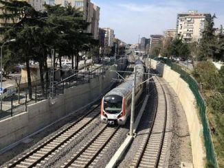 zlepšenie železničných priechodov prielivov a prímestských tratí s gebze prsteňmi