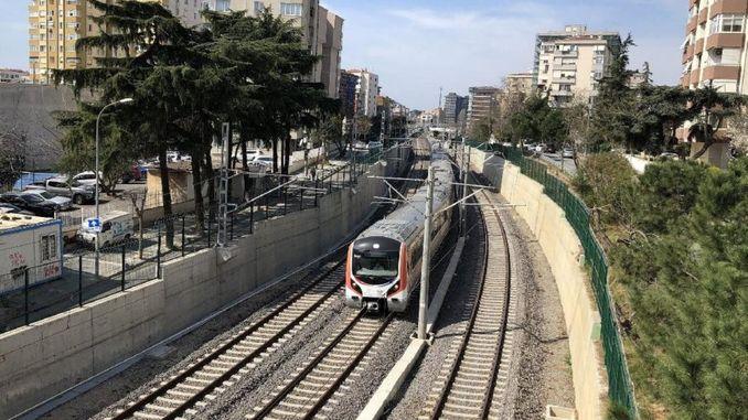 dzelzceļa jūras šauruma cauruļu šķērsošanas un piepilsētas gebze gredzena uzlabošana