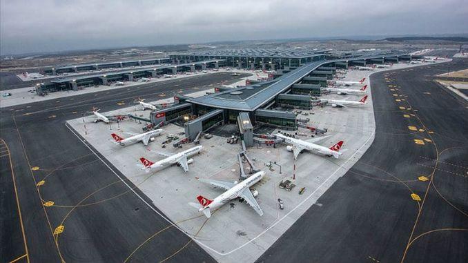 Descrición do aeroporto de Istambul