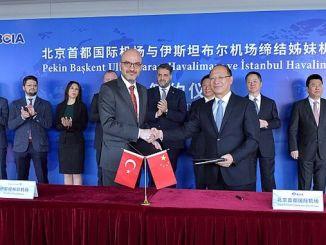 Aeroporti i Stambollit ka nënshkruar marrëveshje me aeroportet ndërkombëtare në Kinë dhe Korenë e Jugut