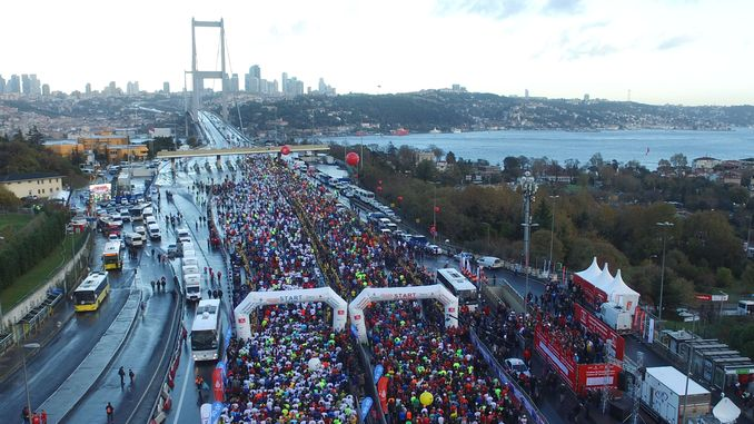 these roads will be closed on Sunday for the Istanbul marathon