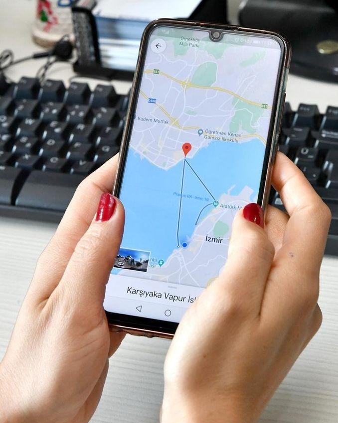 izdeniz scheman och tidtabellinformation på google maps