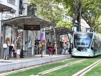 The number of passengers transported by tram in Izmir reaches million