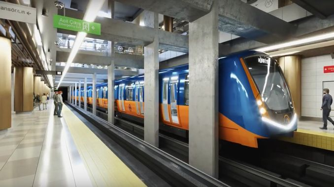important development related to mersin metro project