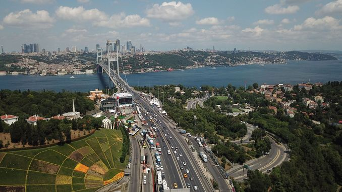 change in motorway and bridge prices