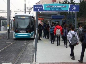 трамвајска линија за плажа