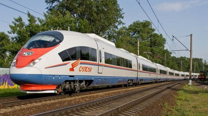 high speed internet comes to trains in Russia
