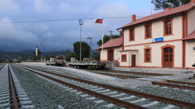 samsun sivas railway large savings will be provided