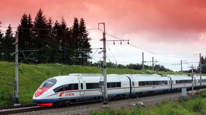 st petersburg hamburg high speed train project cost billion dollars