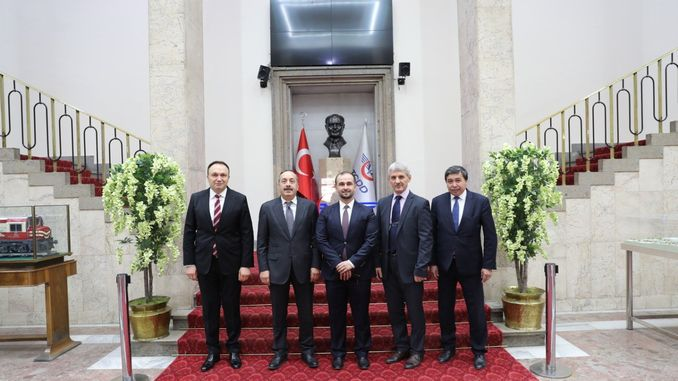 tcdd transportation came together for cooperation with macedonian railways