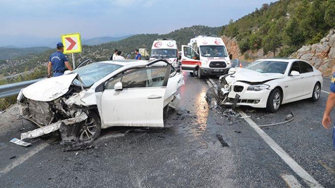 o número de persoas asasinadas en accidentes de tráfico diminuíu un cento por cento