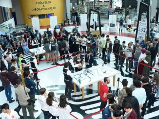 turkiyenin robots competed in Konya science center