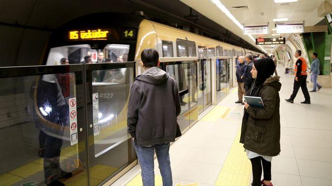 aralik uskudar umraniye cekmekoy sancaktepe subway station