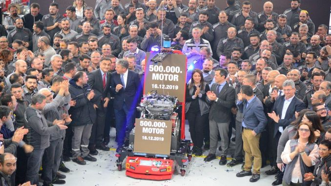 turktraktor realized the production of the thousandth engine in