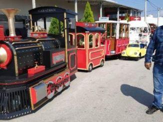 ไฟฟ้า Nostalgic Phaeton และการส่งออกรถรางจาก Denizli ไปยังประเทศ