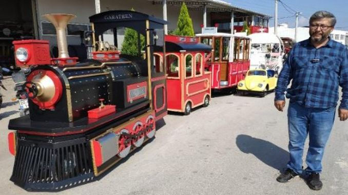 Electrical Nostalgic Phaeton and Tram Exports from Denizli to the Country