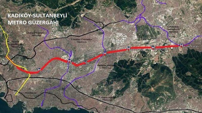 काडीकोय सुल्तानबेयली मेट्रो लाइन