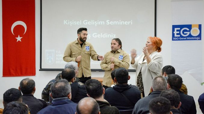 ankara metro cleaning staff for the first time personal development seminar