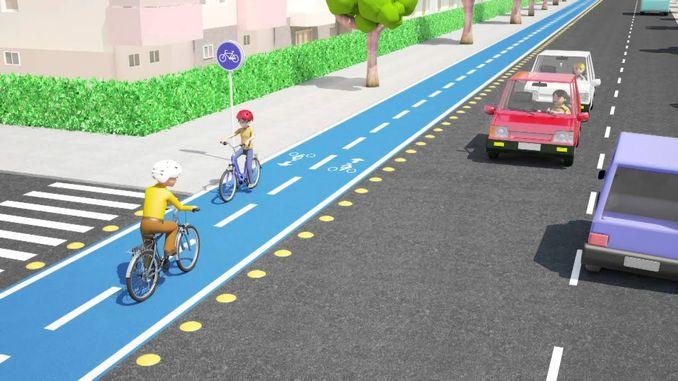 rregullore e re për shtigjet e biçikletave