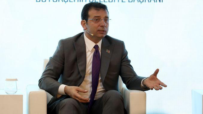 ekrem imamoglu dijo que el canal de Estambul es un proyecto de alquiler