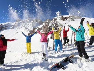 sesongen i erciyes skianlegg åpnes