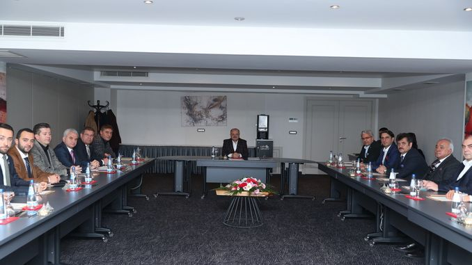 Eskisehir economy evaluation meeting held