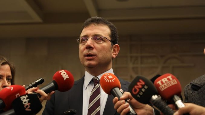 Cavusoglu desertum ignorans quod post responsionis review of Canalis Istanbul imamoglu